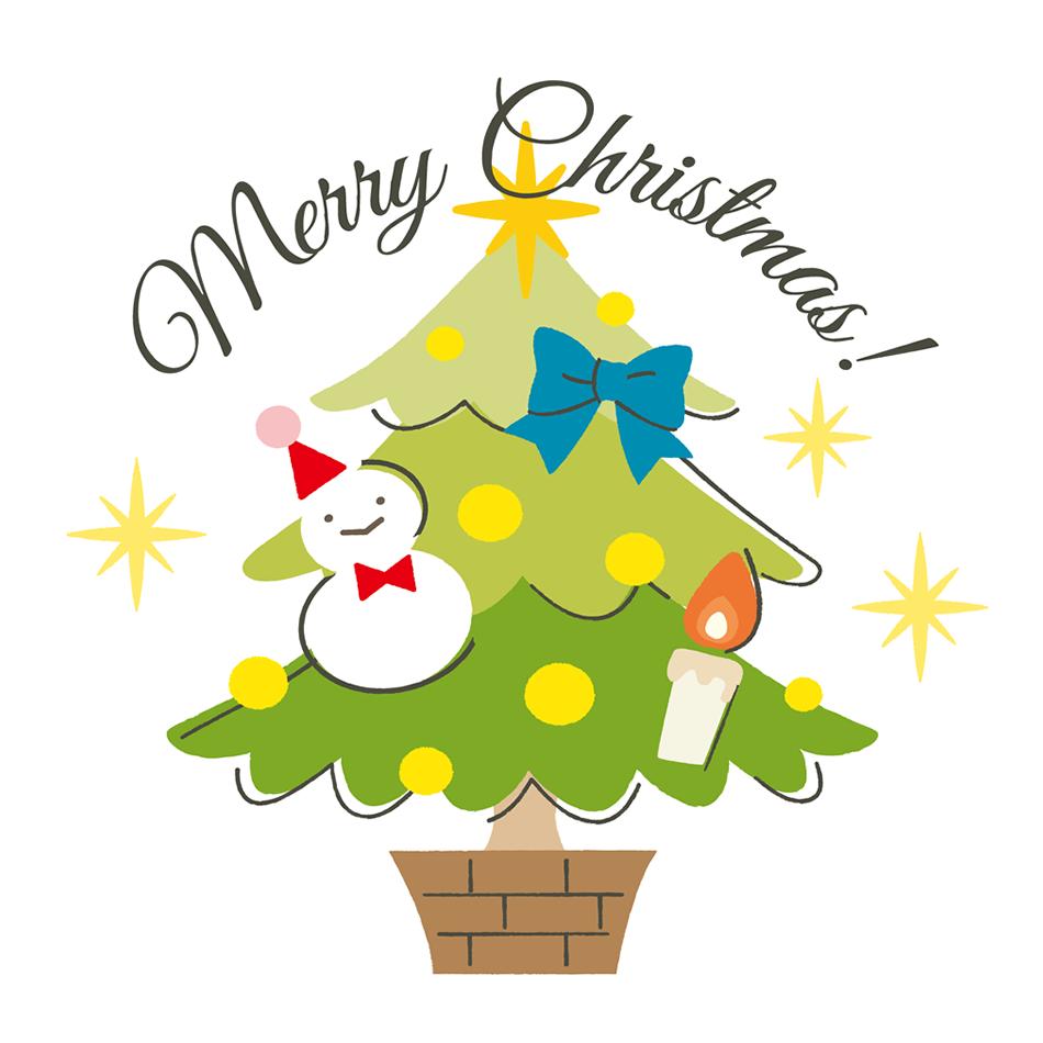 クリスマス用ラベルシール素材