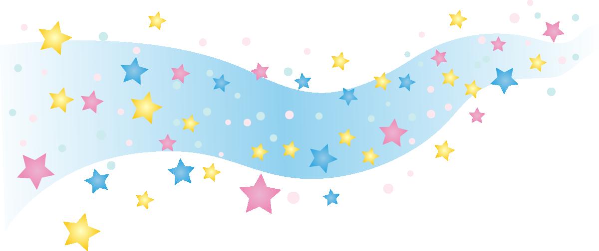 天の川イラスト(7月七夕)