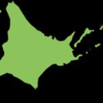 北海道の地図イラスト