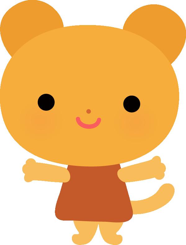 【動物 】かわいいクマのイラスト