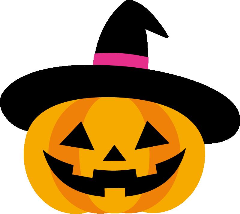 ハロウィンのかぼちゃイラスト