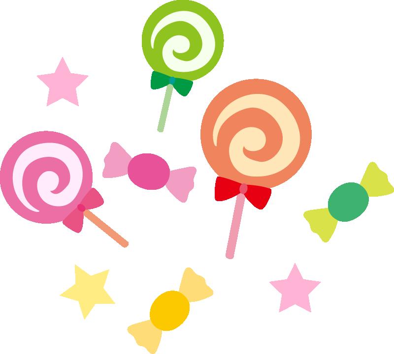 【ハロウィンイラスト】キャンディー