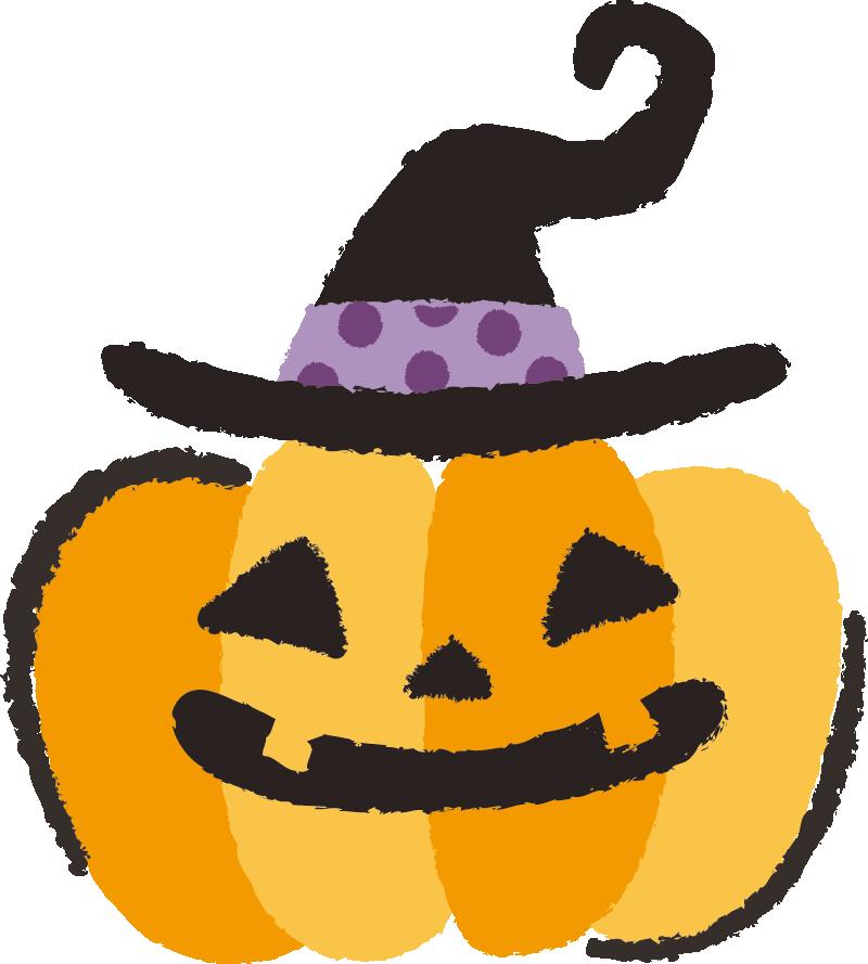 ハロウィン かぼちゃイラスト