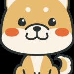 犬のイラスト(柴犬)