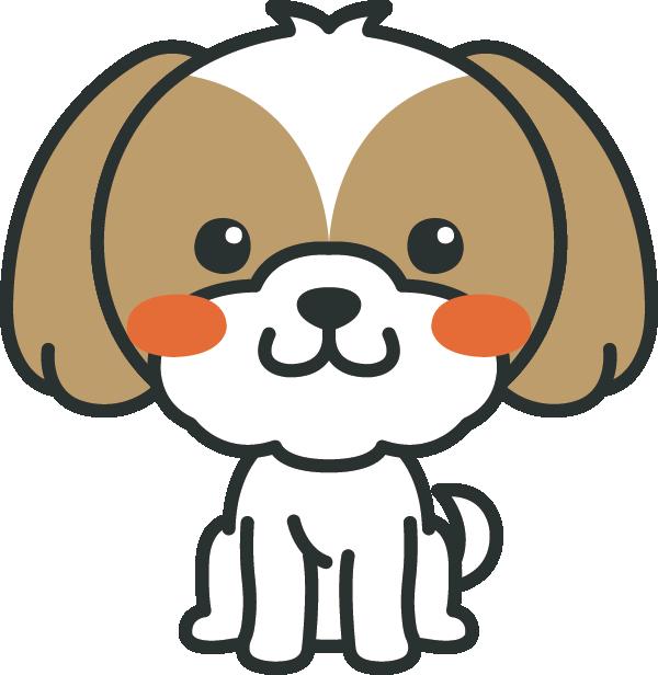 犬のイラスト(シーズー)