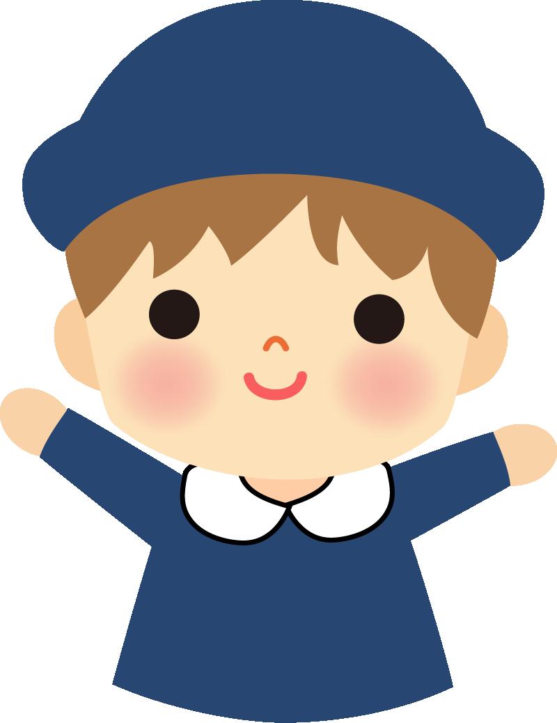 園児のイラスト(男の子)