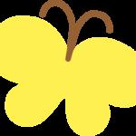 かわいい蝶のイラスト