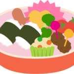 かわいいお弁当のイラスト(遠足)