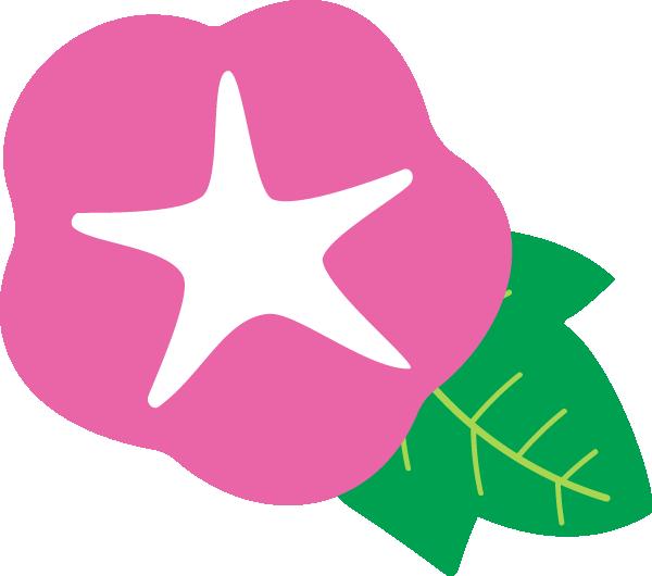 アサガオの花イラスト