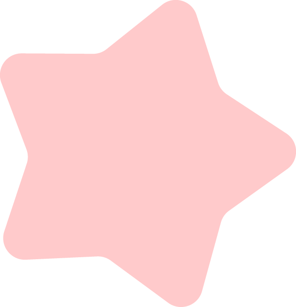 ピンクの星イラスト