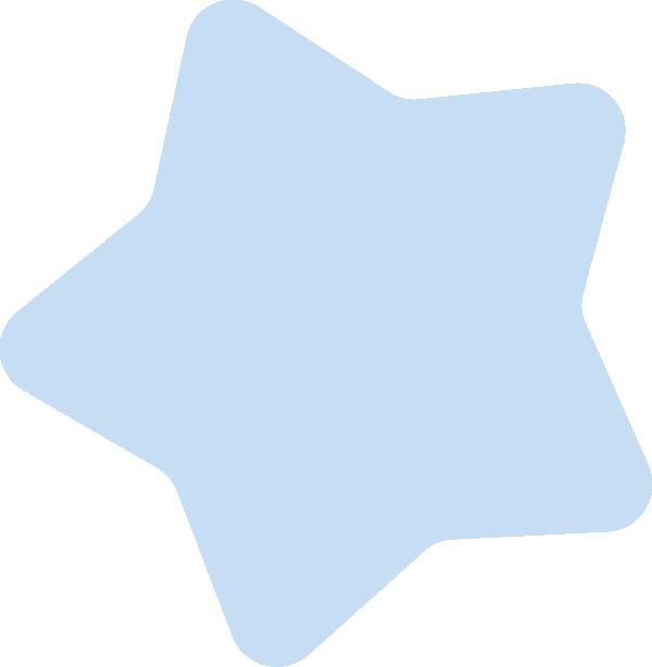 ブルーの星イラスト