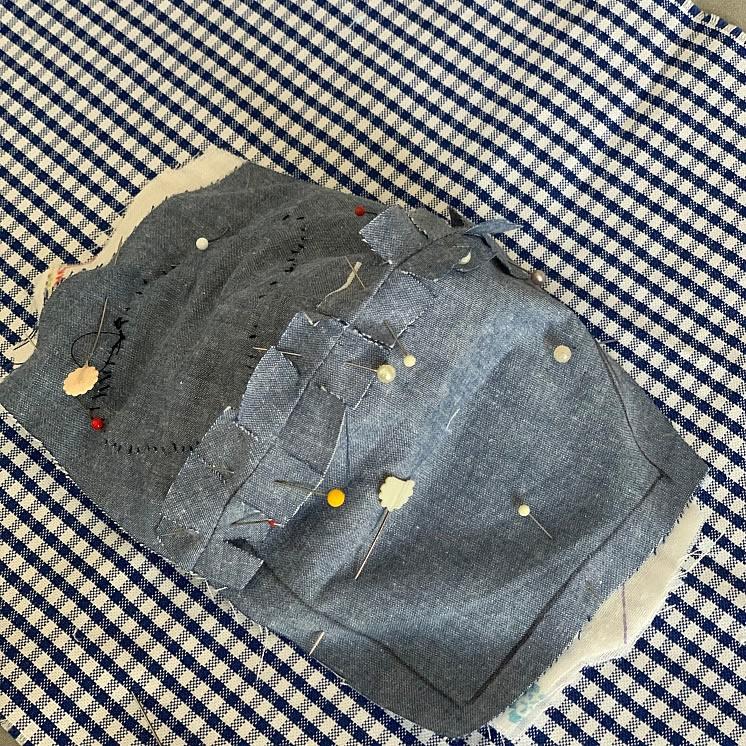 子ども用立体マスクの作り方(12)