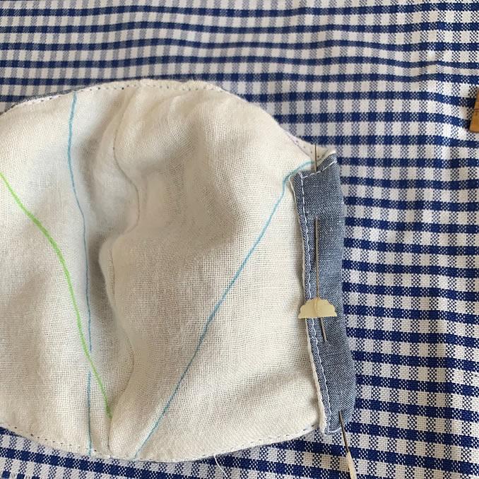 子ども用立体マスクの作り方(16)