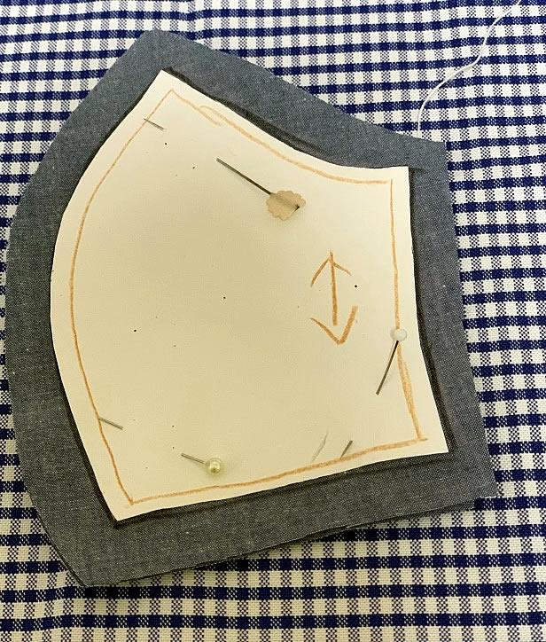 子ども用立体マスクの作り方(2)