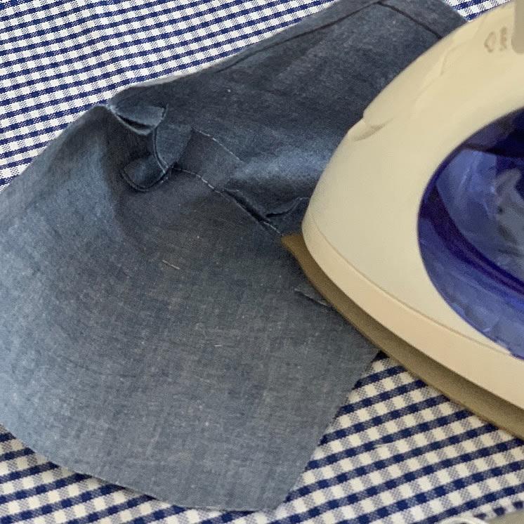 子ども用立体マスクの作り方(8)
