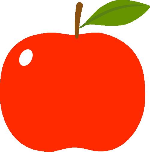 りんご(林檎)のイラスト