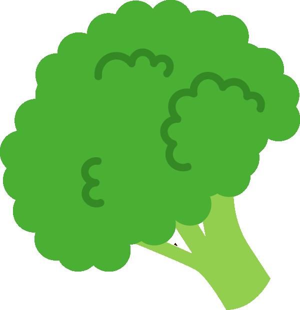 ブロッコリーの野菜イラスト