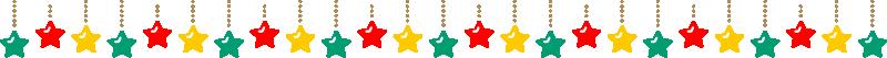 クリスマスの飾り線ライン素材(オーナメント)